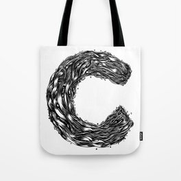 The Illustrated C Tote Bag