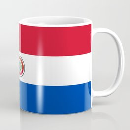flag of paraguay -paraguyan,asuncion,spanish, south america, latin america,pan flute,coffee,forest Coffee Mug