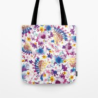marine Tote Bags featuring MARINE by BluePurple