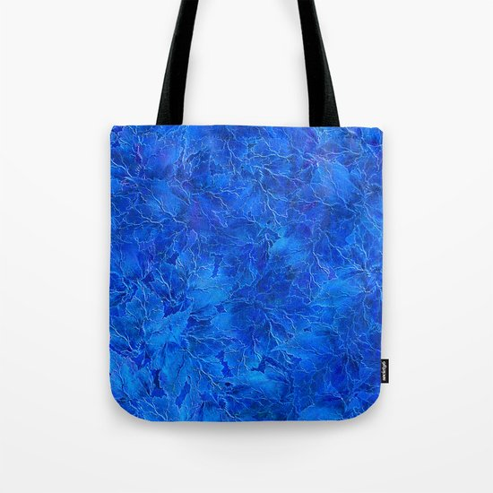 Frozen Leaves 6 Tote Bag