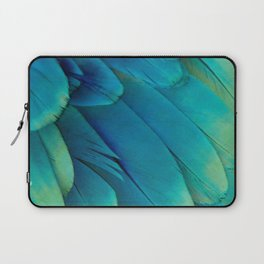 Blue Feathers Laptop Sleeve