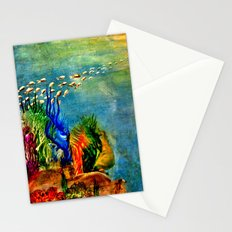Fish Swarm Stationery Cards