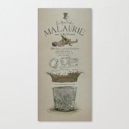La Gran Noche/The great night of Pablo Malaurie Canvas Print
