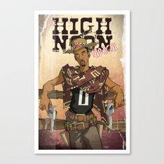 High Noon Hibachi Canvas Print