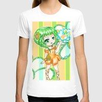 vocaloid T-shirts featuring Gumi CHIBI FANART  by jannaj