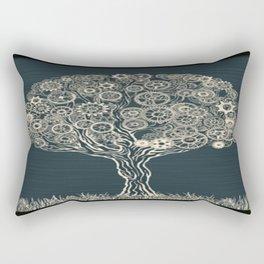 Gear Tree Rectangular Pillow