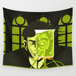 doctor and mister mad experiment Wall Tapestry