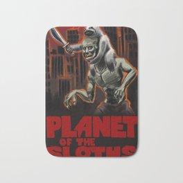 Planet Of The Sloths Bath Mat