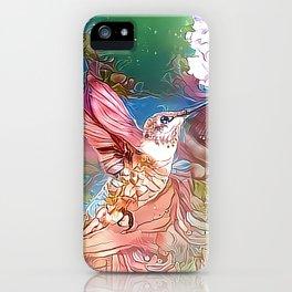 Fairy Hummingbird iPhone Case