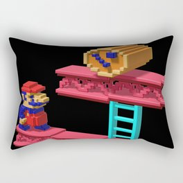 Inside Donkey Kong Rectangular Pillow