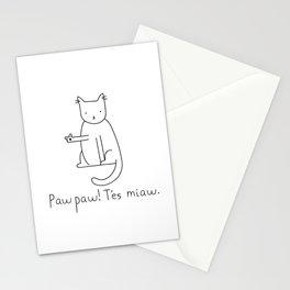 Paw Paw Stationery Cards