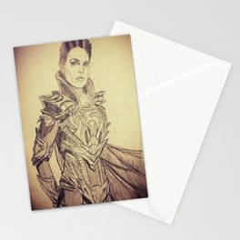 A Strange Visitor from another Planet... Stationery Cards