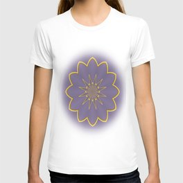 Lavender and Gold  T-shirt