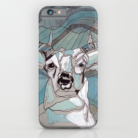 Aqua Deer  iPhone & iPod Case