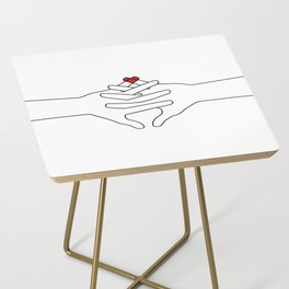 The Power of Love Side Table