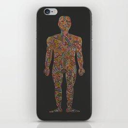 Homo Erectus (rebooted) iPhone Skin