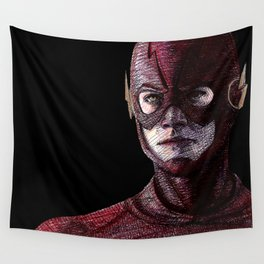 I Am The Flash Wall Tapestry