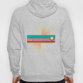 Colorful VHS Player Machine Recorder Classic Cassette Tapes Lover Gift Hoody