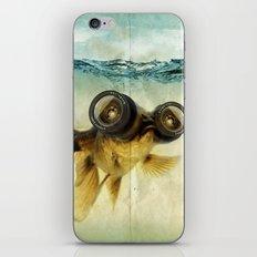 Fish eye lens 02 iPhone Skin