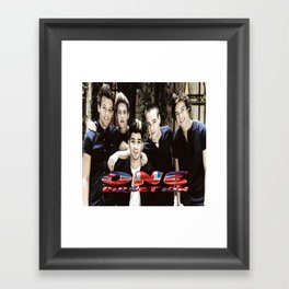 One Direction Framed Art Print
