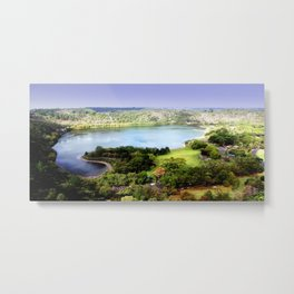 Leg of Lamb Lake Metal Print