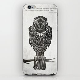 Listen To The Owl iPhone Skin