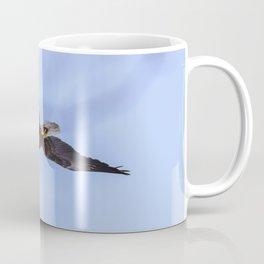 Bald Eagle flying near some trees Coffee Mug