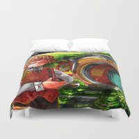 thorin Duvet Covers featuring Shire AU by NON6