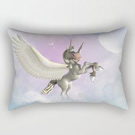 Cute little pegasus Rectangular Pillow