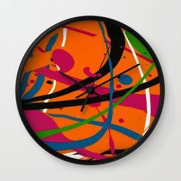 Wet Paint no. 04 Wall Clock