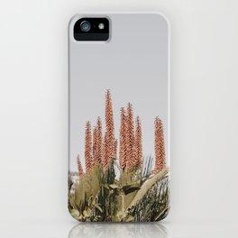Botanical Floral Plants Pastel iPhone Case