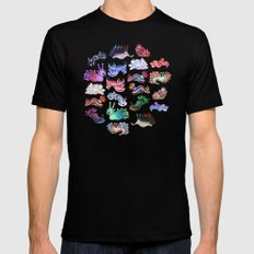 Nudibranch Black X-LARGE Mens Fitted Tee