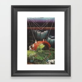 Atmospheric Framed Art Print