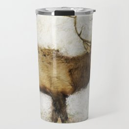 Grand Canyon Elk No. 1 Wintered Travel Mug