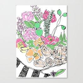 Camelia Canvas Print