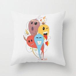 El trio Throw Pillow