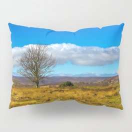 A single tree in The Peak District Pillow Sham