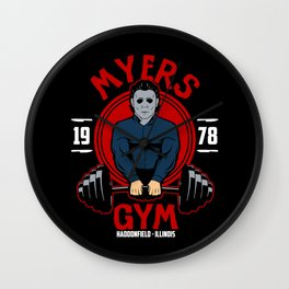 Myers gym Wall Clock