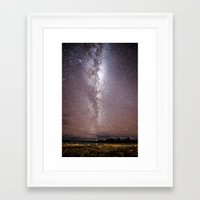 milky way Framed Art Prints featuring Milky Way by ©valourine