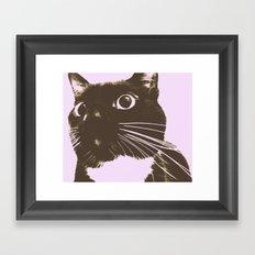 The Cat Possessed Framed Art Print