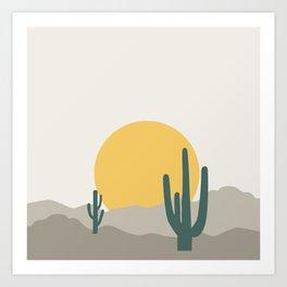 Desert Dreamin' Art Print