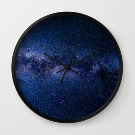 Milky Way (Starry Night) 9. Wall Clock