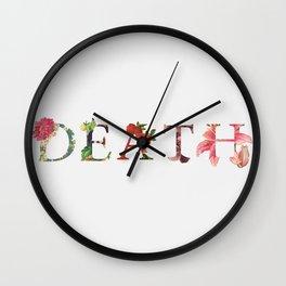 Life In Death Wall Clock