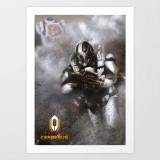 Mass Effect: Cerberus Art Print