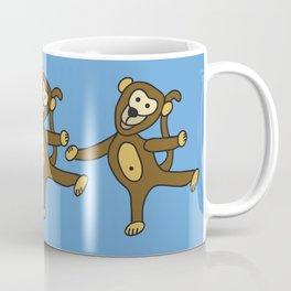 © Little Monkey dancing Coffee Mug