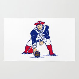 New England Patriot Old Rug