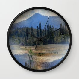 In the Valley... Wall Clock
