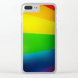 pride. Clear iPhone Case