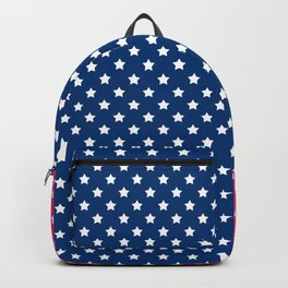 Abstract Patriotic pattern . Backpack