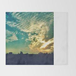 Charleston Skies Throw Blanket